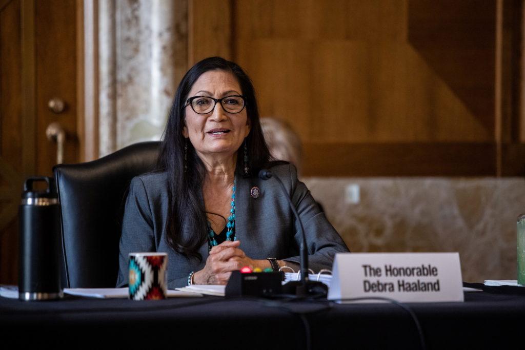 U.S. Senate panel holds hearing on interior secretary nominee