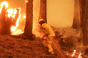 FILE PHOTO: Dixie Fire in California
