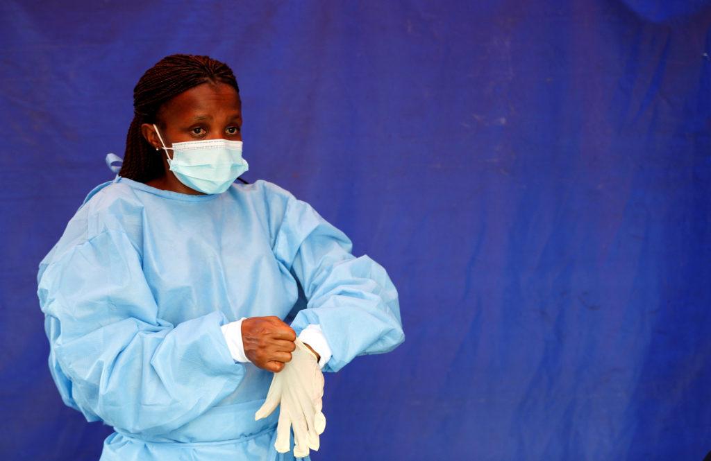 FILE PHOTO: A nationwide coronavirus disease (COVID-19) lockdown, in South Africa