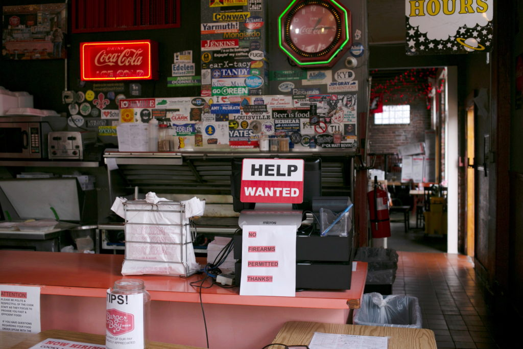 FILE PHOTO: Busy Kentucky restaurants face staffing shortages
