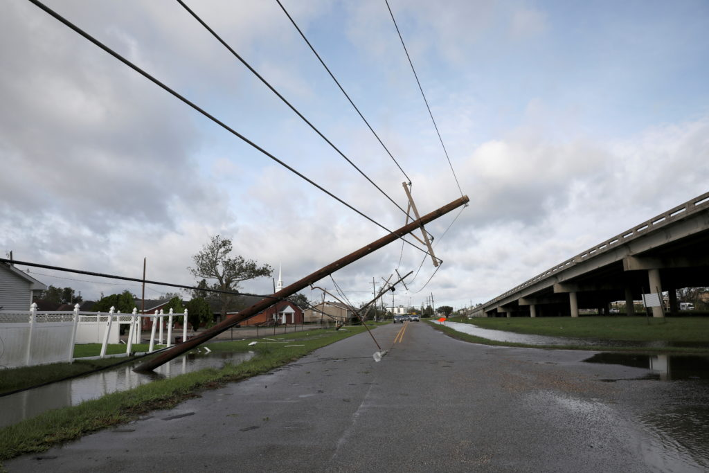 FILE PHOTO: Aftermath of Hurricane Ida in Louisiana