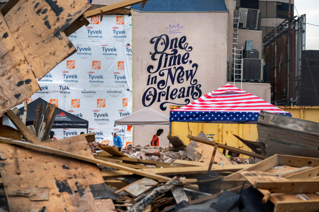 Large swaths of New Orleans still out of power, over a week after Hurricane Ida