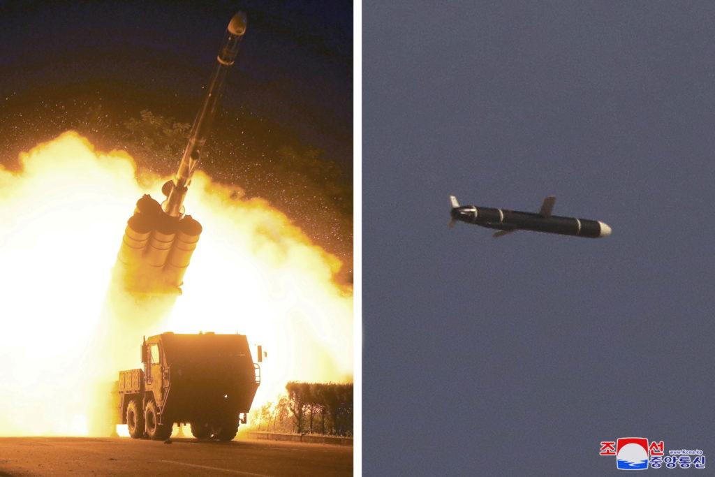North Korea test-fires long-range cruise missile