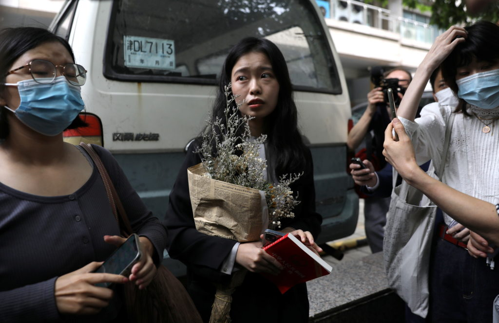 High profile Chinese #metoo case goes to court for another hearing, in Beijing