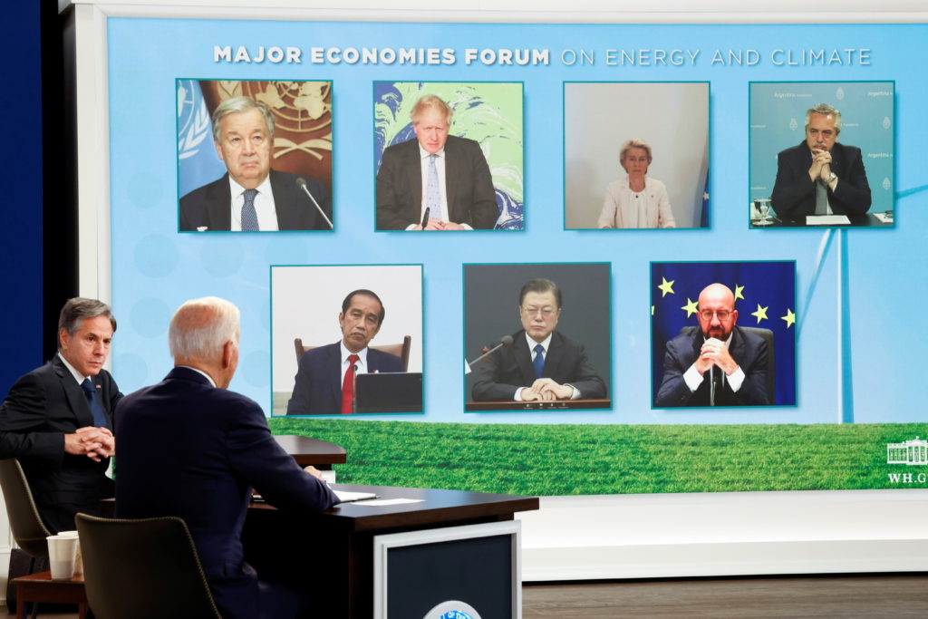 Biden, world leaders try to hammer out next steps on climate