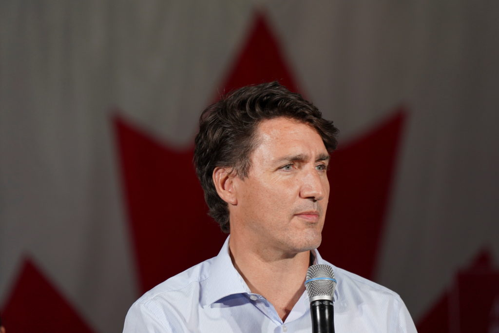 Canadians are voting in an election that could knock Justin Trudeau from power