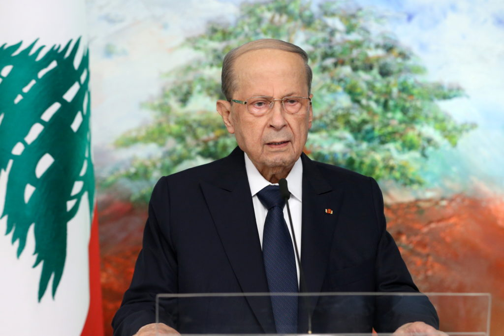 WATCH: His country mired in crises, Lebanese leader calls for help