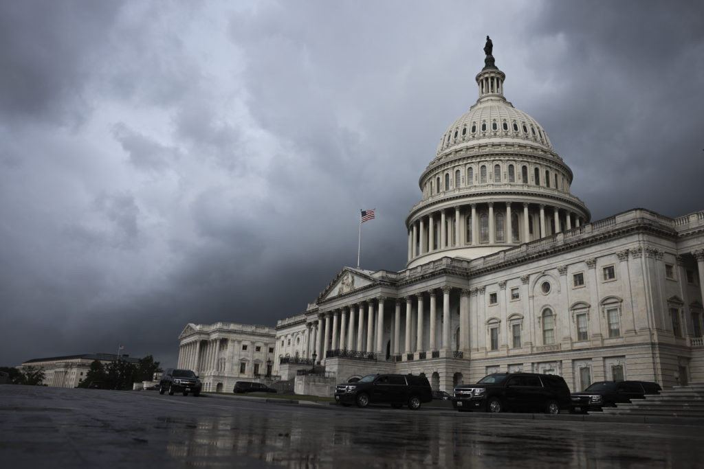 Congress Works On Domestic Agenda On Capitol Hill