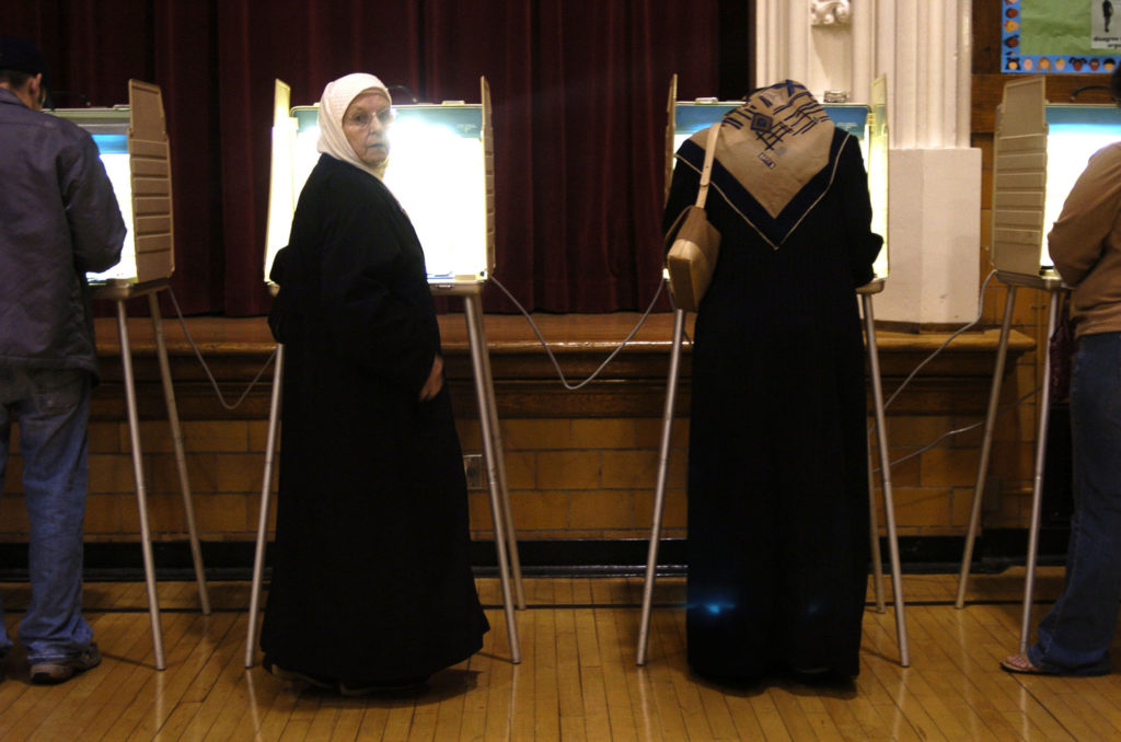 Arab Voters Go To The Polls In Michigan