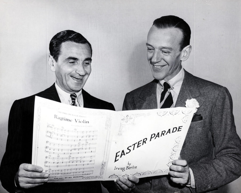 Photo of Fred ASTAIRE and Irving BERLIN