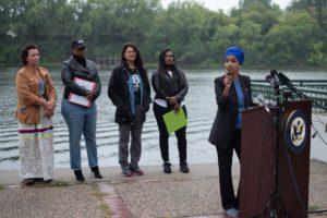 Democratic Congresswomen Hold Line 3 Press Conference