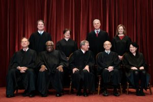 Group Photograph Of U.S. Supreme Court Justices
