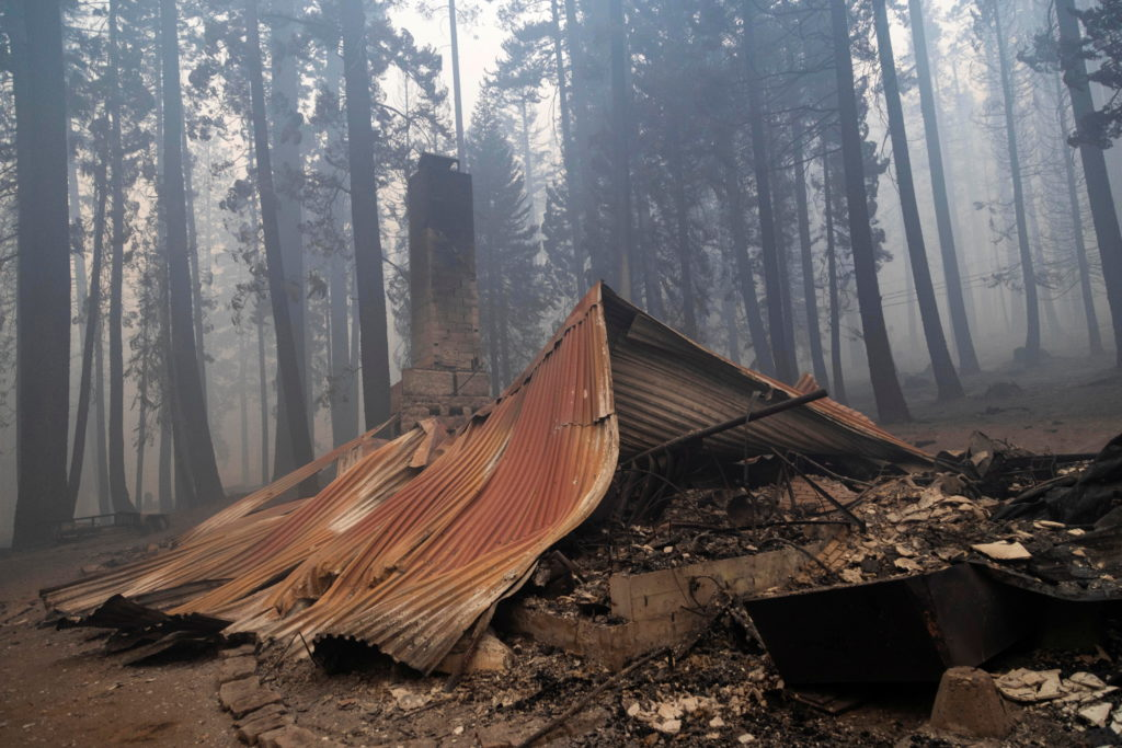 The Caldor Fire threatens Tahoe