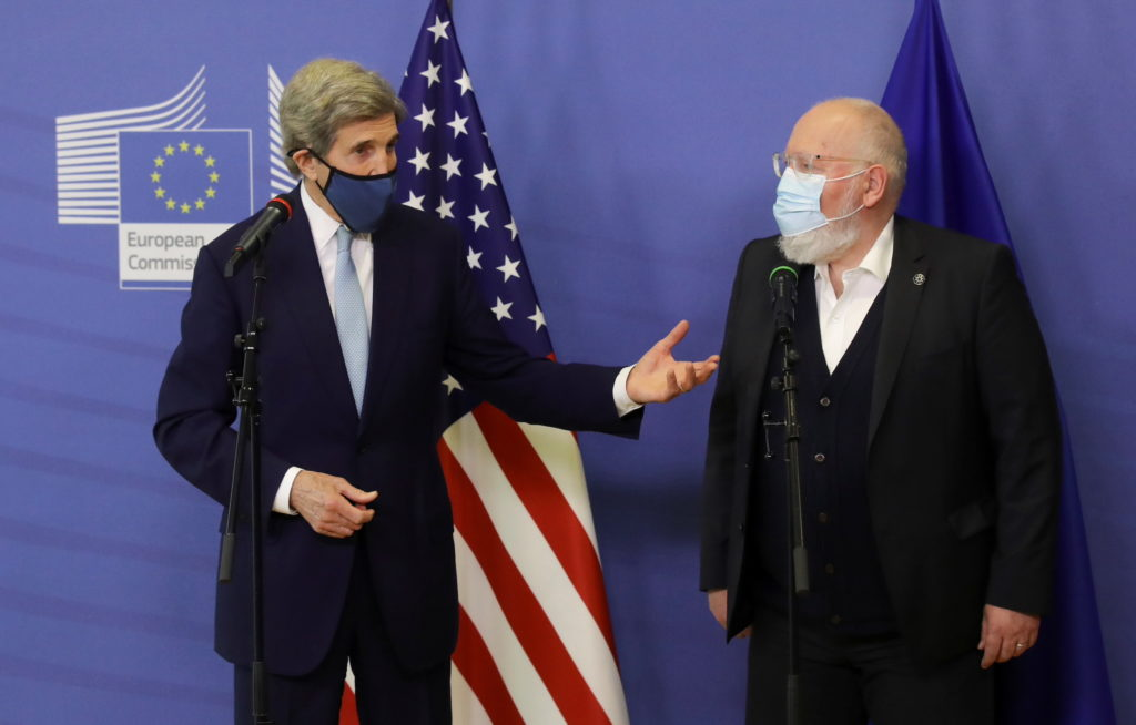 EU Commission visit of US Special Presidential Envoy for Climate John Kerry