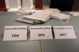 Bundestag Election - Polling Station Berlin