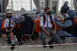 Mass vaccination program in Palangkaraya