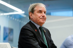 Chairman of the House Budget Committee John Yarmuth (D-KY) speaks during an interview with Reuters in Washington