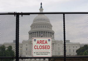 FILE PHOTO: Fencing to be removed from the U.S. Capitol in Washington