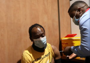South Africa's vaccine train aims to boost inoculation numbers in remote areas