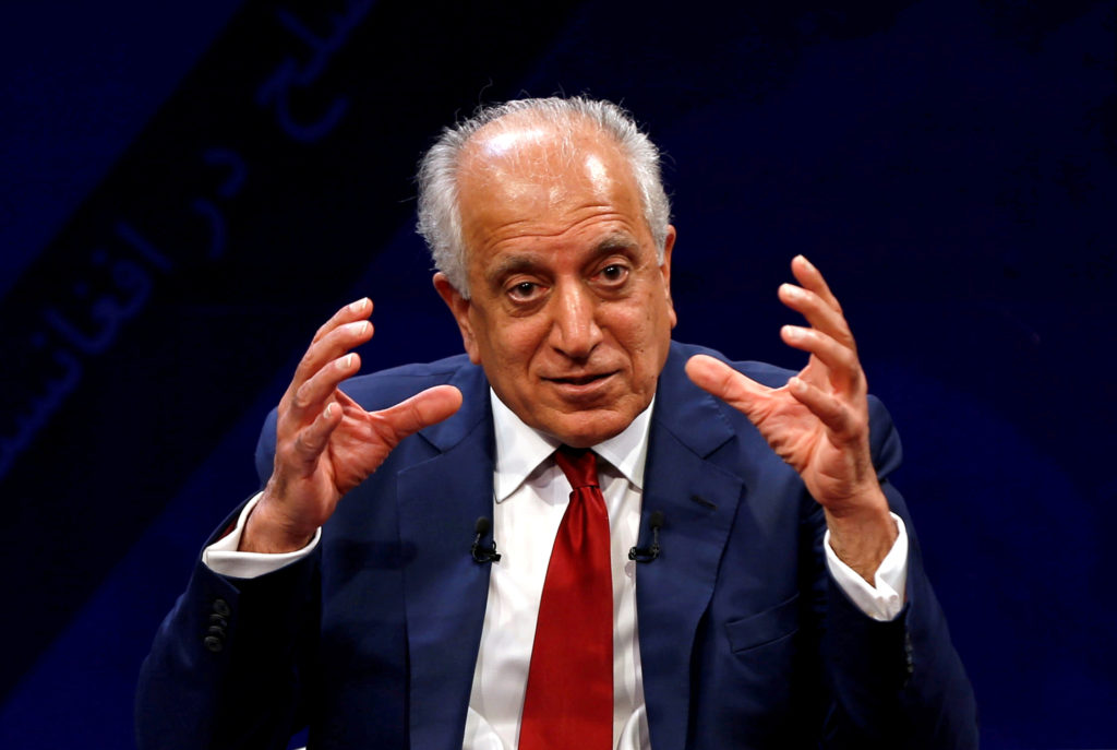 Ambassador Zalmay Khalilzad, the man who made a deal with the Taliban, out as as U.S. special representative to Afghanistan