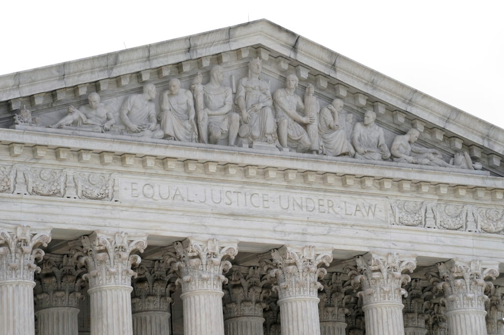 FILE PHOTO: General view of the U.S. Supreme Court building in Washington