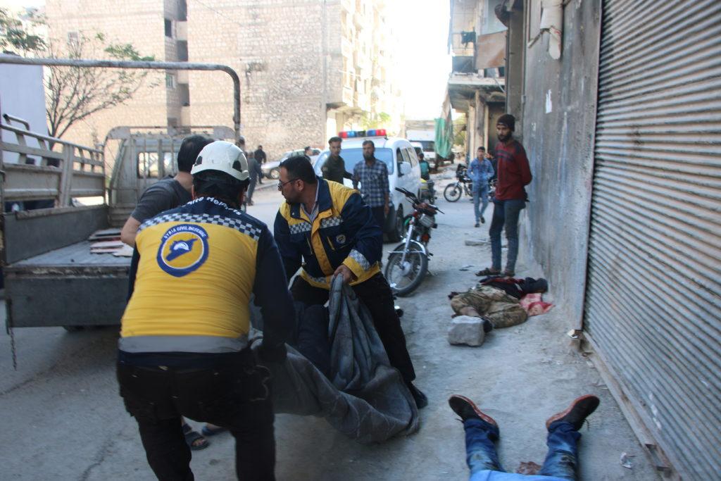 Syrian army shelling kills at least 11 civilians in Ariha