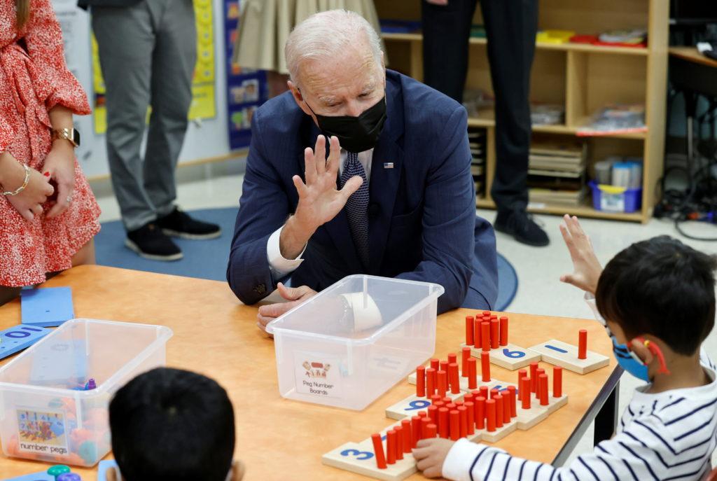 U.S. President Biden visits New Jersey