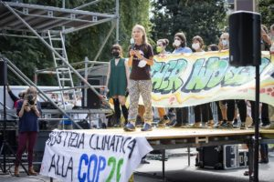 Fridays For Future Holds Climate Strike March In Milan