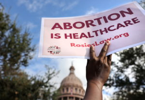 Abortion rights advocates protest restrictive laws in Austin, Texas, U.S.