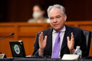 Public health officials testify at U.S. Senate hearing on COVID-19 response in Washington