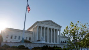 FILE PHOTO: Morning rises over the U.S. Supreme Court building in Washington