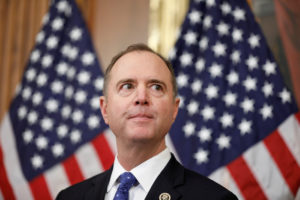 House Intelligence Committee Chairman Adam Schiff speaks to the media after voting on impeachment of U.S. President Trump